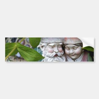 At Gnome in the Garden Bumper Sticker