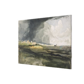At Hailsham, Sussex: A Storm Approaching, 1821 (w/ Stretched Canvas Print