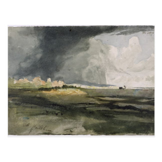 At Hailsham, Sussex: A Storm Approaching, 1821 (w/ Postcard