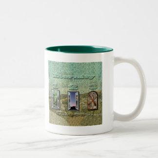 At Hell Gates - Customized Two-Tone Coffee Mug