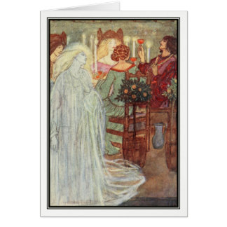 At Home by Florence Harrison Card