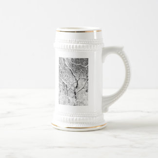 at home in snow coffee mug