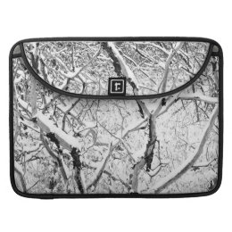 at home in snow sleeve for MacBook pro