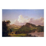 At home on the lake by Frederic Edwin Church Poster