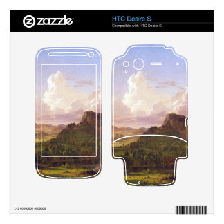 At home on the lake by Frederic Edwin Church Skin For HTC Desire S