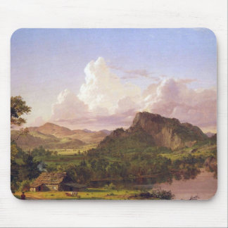 At home on the lake by Frederick Edwin Church Mouse Pad