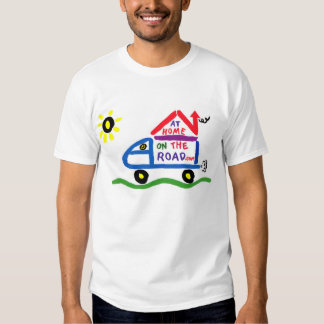 At Home on The Road T Shirt