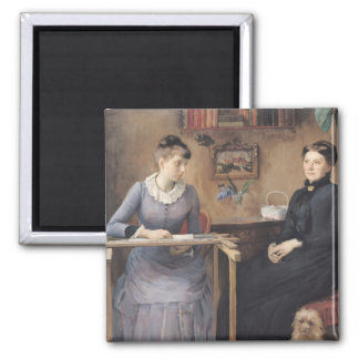 At Home or Intimacy, 1885 Magnet