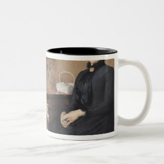 At Home or Intimacy, 1885 Mug