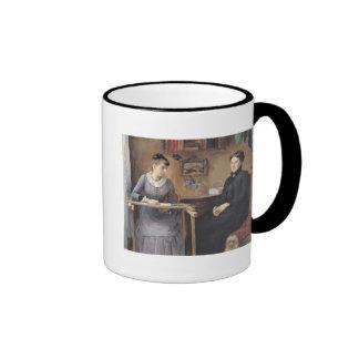 At Home or Intimacy, 1885 Ringer Mug
