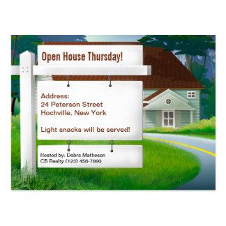 At Home Real Estate Postcard