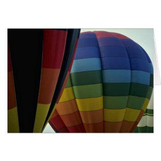 At large Air Baloons Greeting Card
