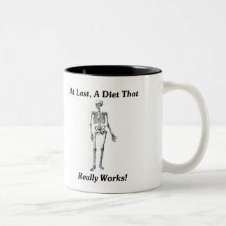 At Last, A Diet That Really Works! Two-Tone Coffee Mug