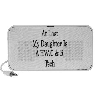 At Last My Daughter Is A HVAC & R Tech iPod Speaker