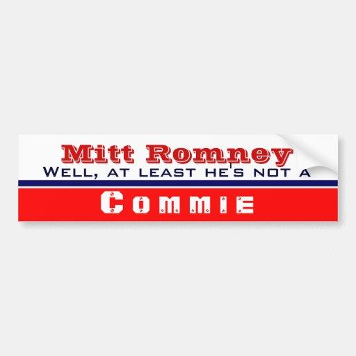 At Least He's not a commie Car Bumper Sticker