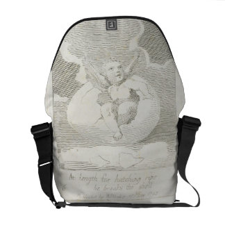 At Length for Hatching Ripe He Breaks the Shell, p Courier Bag