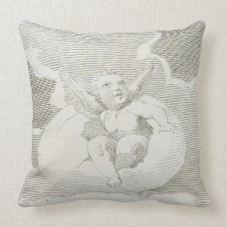At Length for Hatching Ripe He Breaks the Shell, p Throw Pillow