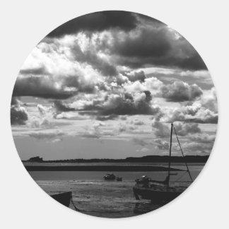 At Lindisfarne Classic Round Sticker