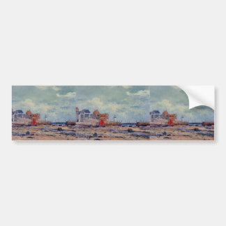 At Low Tide by Maxime Maufra Bumper Stickers