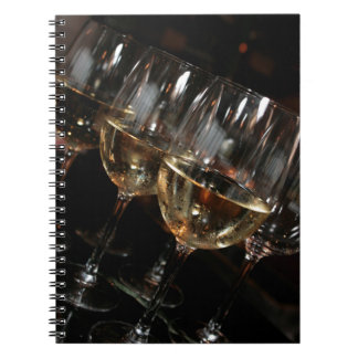 At my age I need wine glasses Notebook