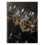At my age I need wine glasses Spiral Notebooks