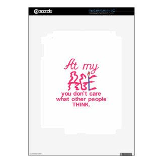 At My Age iPad 2 Decal