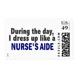 At Night I Dress Up Like A Nurse's Aide Stamps
