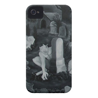 At night on the cemetery -  devil Case-Mate iPhone 4 case