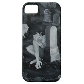 At night on the cemetery -  devil iPhone SE/5/5s case
