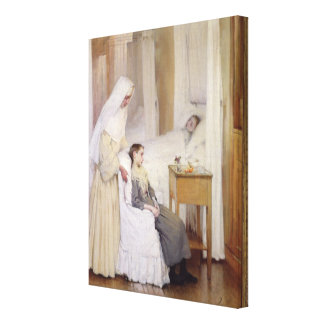 At Notre-Dame du Perpetuel Bon Secours Canvas Print