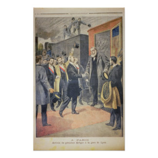 At Paris: the Arrival of President Kruger Poster