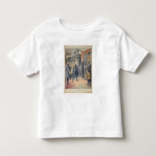 At Paris: the Arrival of President Kruger Toddler T-shirt