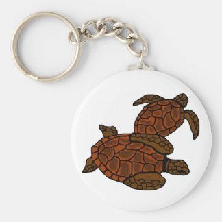 At Peace Sea Turtles key chain