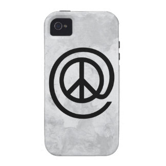 At Peace Sign Case For The iPhone 4