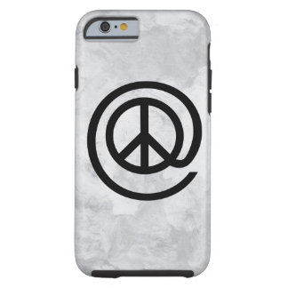 At Peace Sign Tough iPhone 6 Case