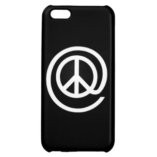 At Peace Sign iPhone 5C Cover