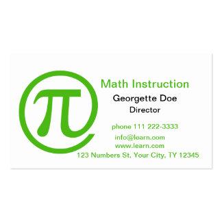 At Pi Kelly Green Business Card