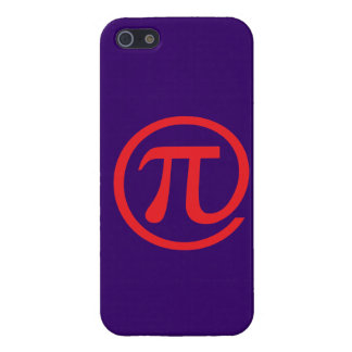 At Pi Sign iPhone SE/5/5s Cover