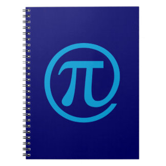 At Pi Sign Note Books