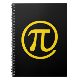 At Pi Sign Notebooks