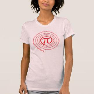 At Pi Sign, Spiral Version Tshirt