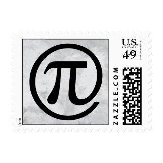At Pi Sign Stamp