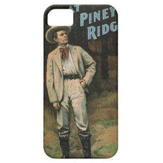 At piney ride vintage art apple iphone4 Case