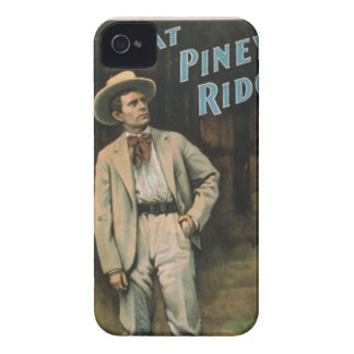 At piney ride vintage art blackberry Case