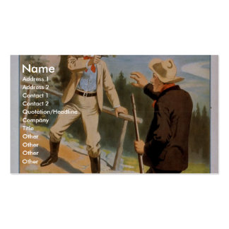 At Piney Ridge, 'I Have the right to Kill you' Double-Sided Standard Business Cards (Pack Of 100)