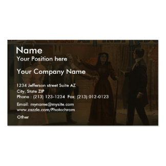 At Piney Ridge, 'I've Saved You, Jack!' Act II Business Card Template