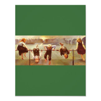At Play Dorothy Tennant 4.25x5.5 Paper Invitation Card