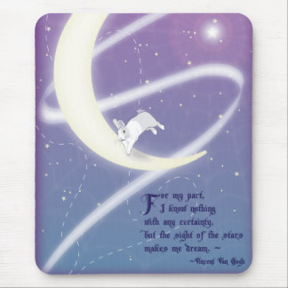 AT PLAY IN THE COSMOS MOUSE PAD