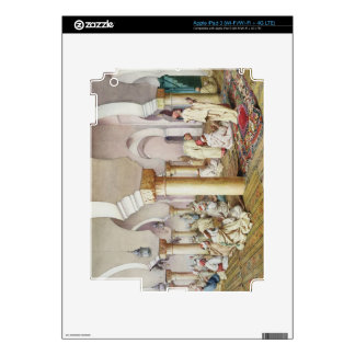 At Prayer in the Mosque, 1884 iPad 3 Decal