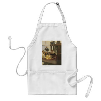 At Queen's Ferry by NC Wyeth, Vintage Pirates Adult Apron
